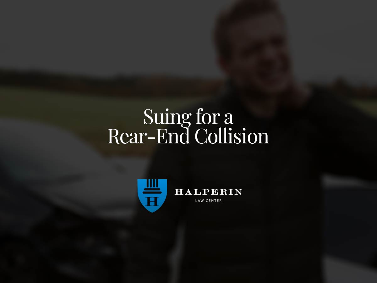Suing for a Rear-End Collision