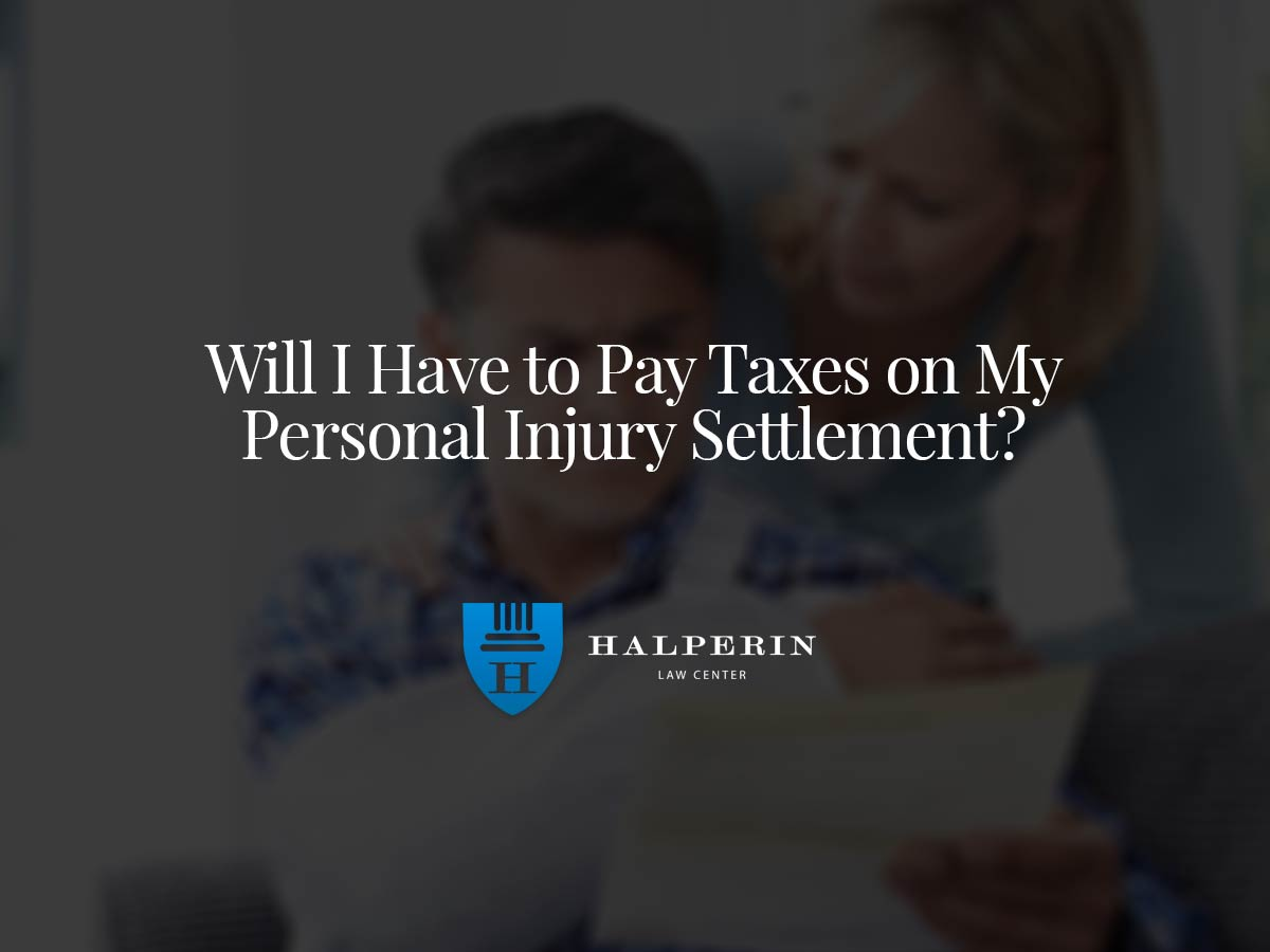 Will I Have to Pay Taxes on My Personal Injury Settlement?