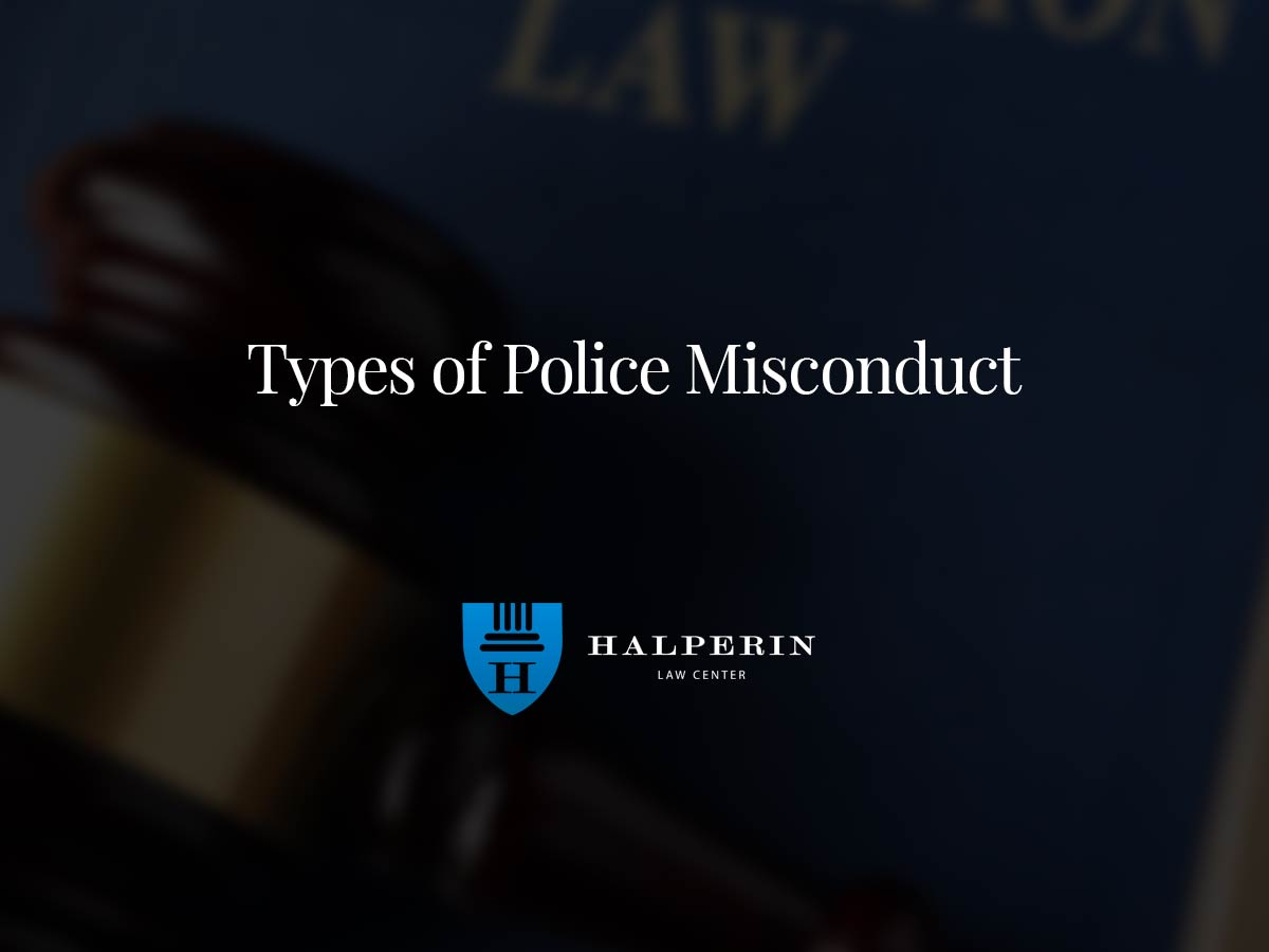 Types of Police Misconduct