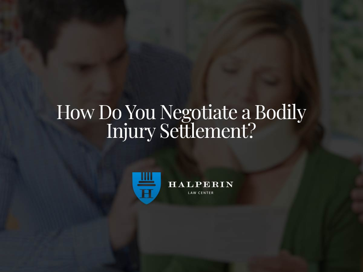 How Do You Negotiate a Bodily Injury Settlement?