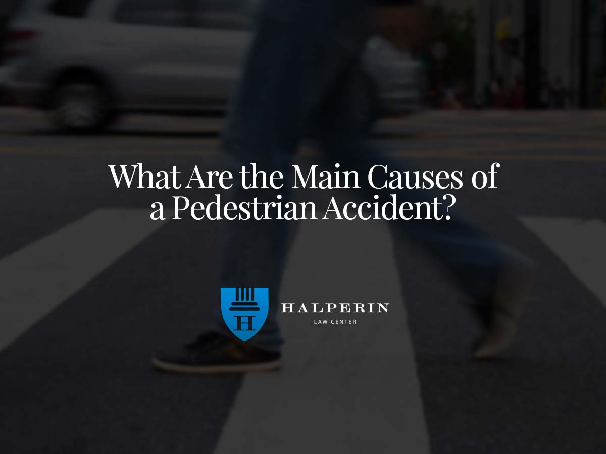 What Are the Main Causes of a Pedestrian Accident?